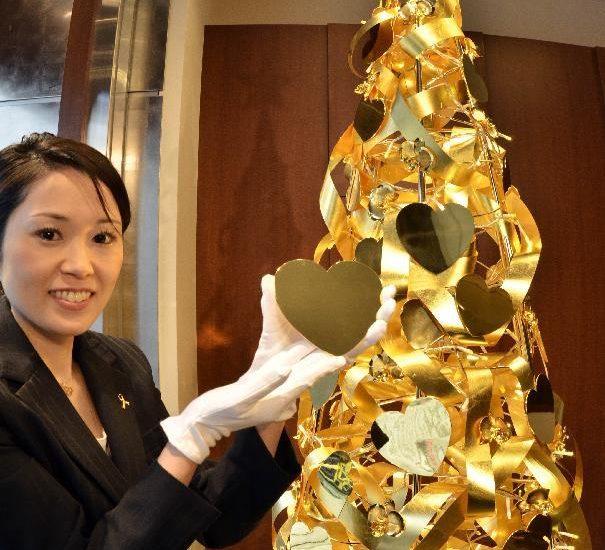 Ginza Tanaka christmas tree