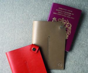 Monocle Passport Holder
