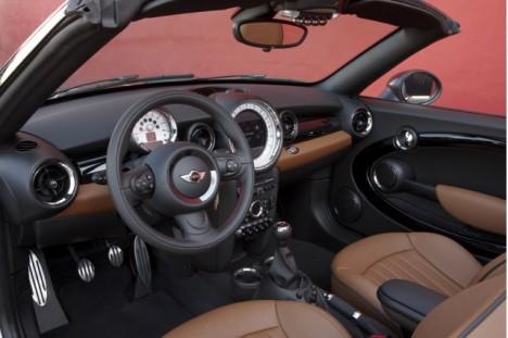 Mini Roadster inside