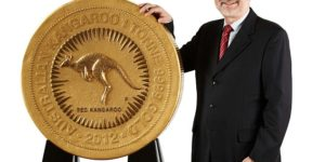 Australia unveils world's largest gold coin
