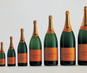 veuve clicquot bottles