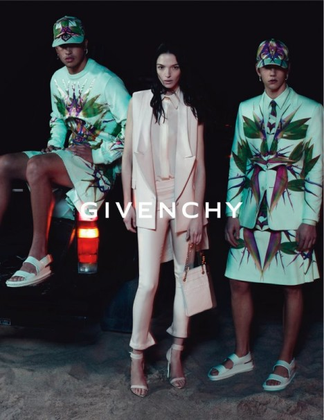 Givenchy SS 2012 Campaign