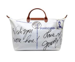 Longchamp Jeremy Scott Bag postcard