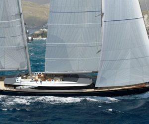Perini Navi 69m sailing yacht hull C2227