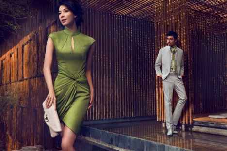 Shanghai Tang Spring 2012 Ad Campaign
