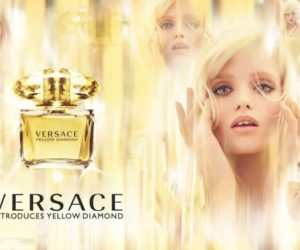 Versace Yellow Diamond Fragrance ad