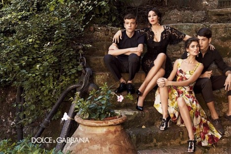 Dolce & Gabbana Spring Summer 2012 Ad Campaign