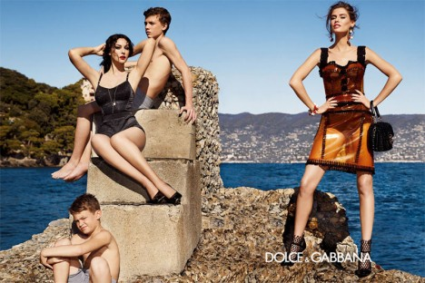 Dolce & Gabbana Spring 2012 Campaign