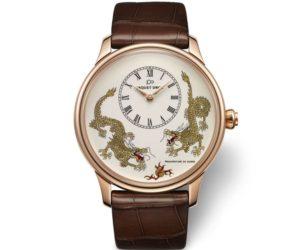 jaquet droz petite heure dragon watch