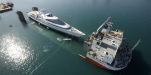 Superyacht Yas launched by ADM Shipyards