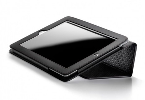 omega ipad cover black fold