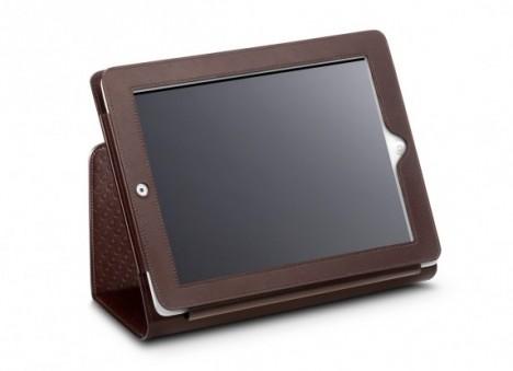 omega ipad cover brown fold