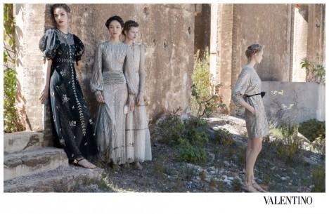 Valentino Spring Summer 2012 Ad Campaign