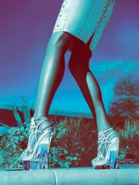 Versace Spring 2012 Campaign