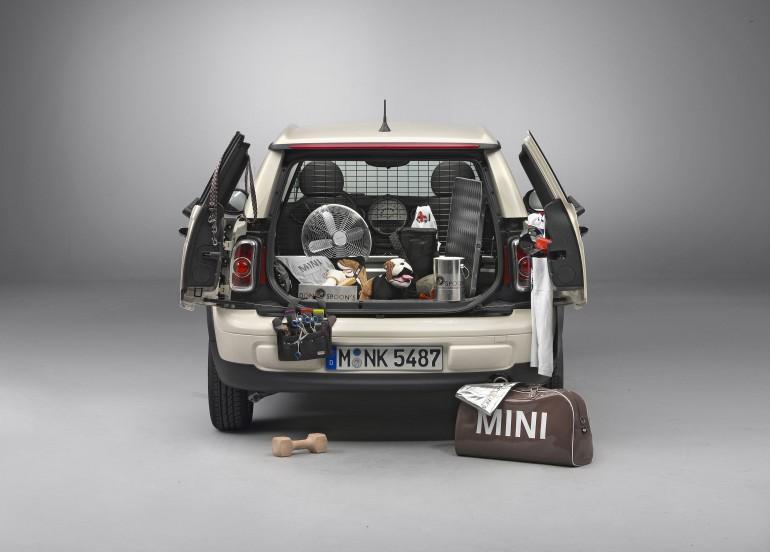 2013 Mini Clubvan back