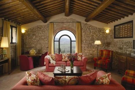 Castello di Casole suite