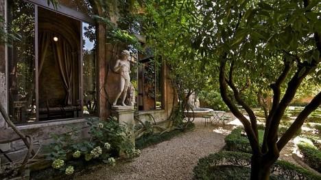 Palazzo Orsini garden