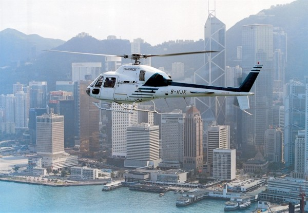helicopter hong kong