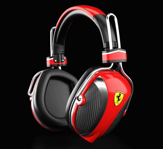 logic3 ferrari Headphones