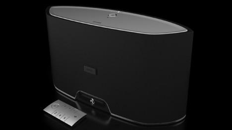 logic3 ferrari Speaker Docks