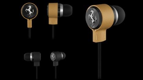 logic3 ferrari earphones