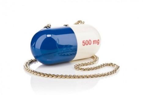Louboutin capsule line Pilule bag