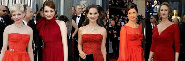 Red Carpet 2012 Oscars