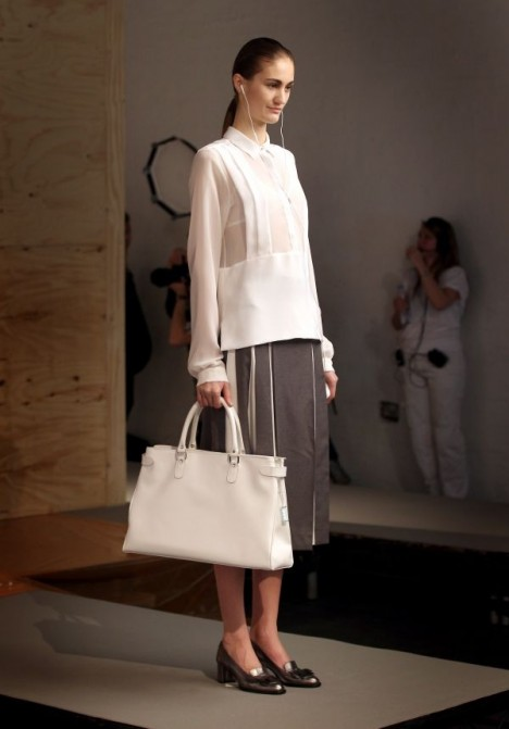 Richard Nicoll recharging tote bag
