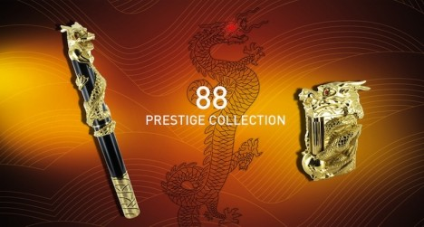 ST Dupont dragon prestige collection