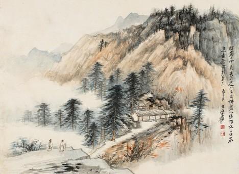 zhang daqian chinese painting