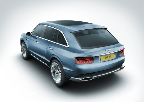 Bentley EXP 9 F Concept SUV back