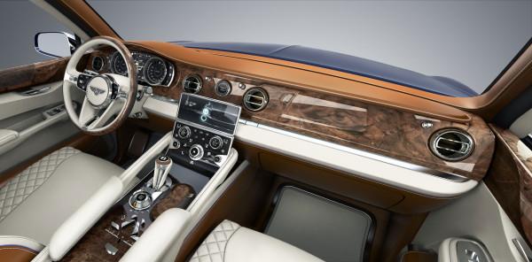 Bentley Concept SUV interior