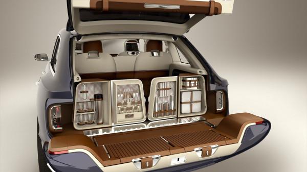 Bentley SUV trunk