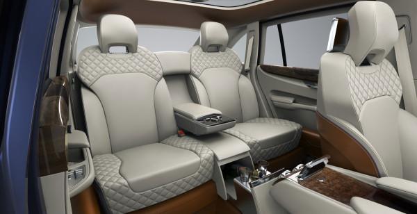 Bentley Concept SUV interior photo