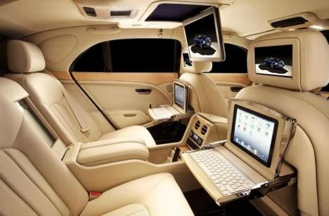 Bentley Mulsanne iPad Specification