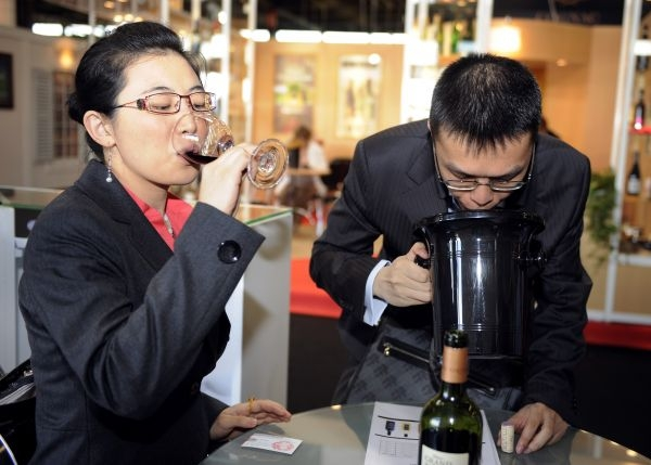 Chinese wine professionals