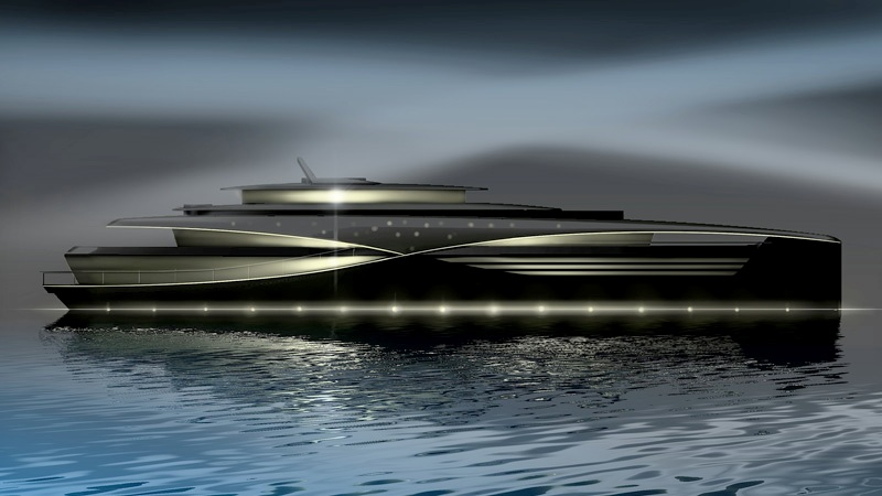 Feadship Qi concept yacht