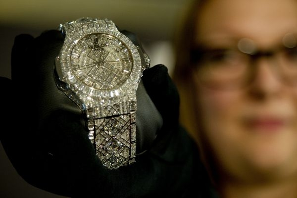 Hublot 5-million-dollar watch
