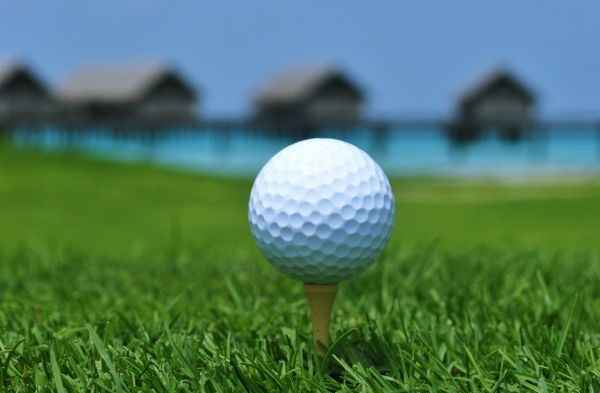 Maldives golf course