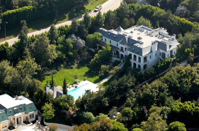 Michael Jackson Los Angeles home