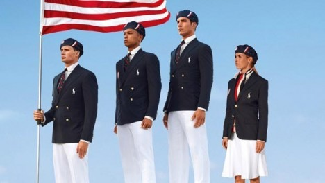 US Olympics uniforms 2012