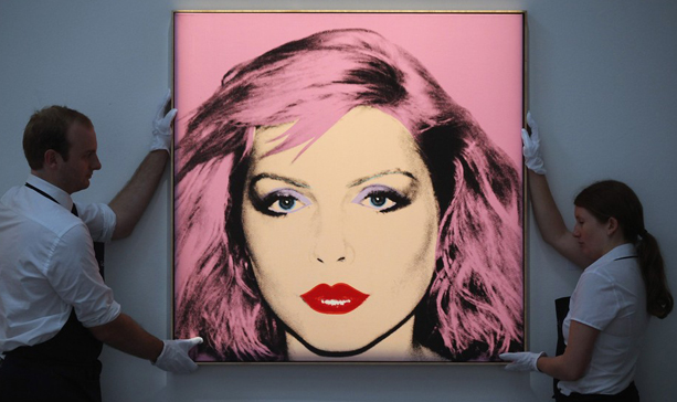 andy warhol debbie harry