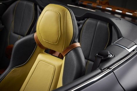 Q by Aston Martin virage volante interior