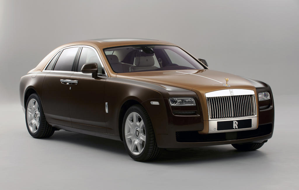 rolls royce two tone ghost