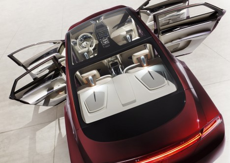 2012 Lincoln MKZ Concept roof