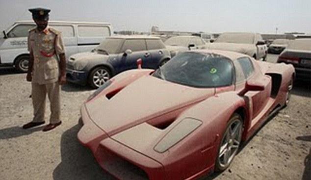 Abandoned Ferrari Enzo