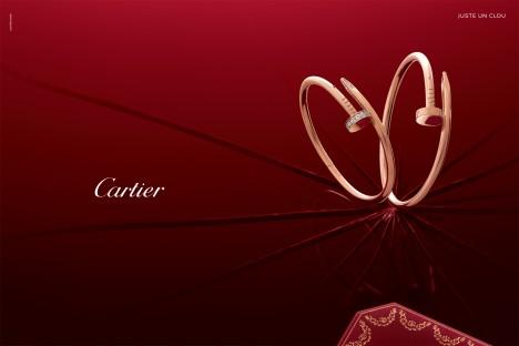 Cartier Juste Un Clou pink gold diamonds