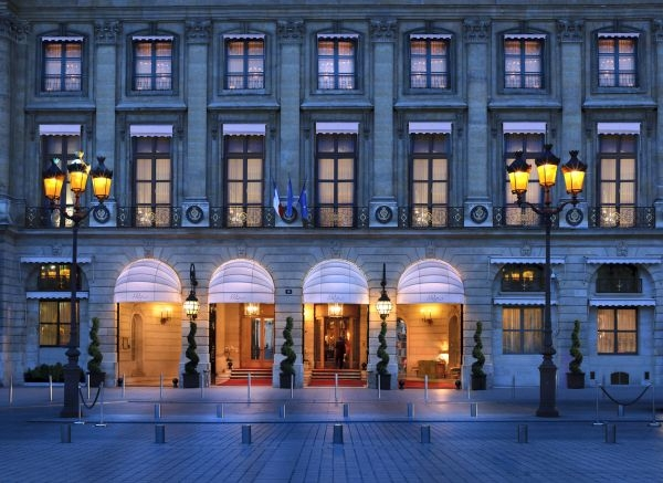 Facade Ritz Hotel Place Vendome
