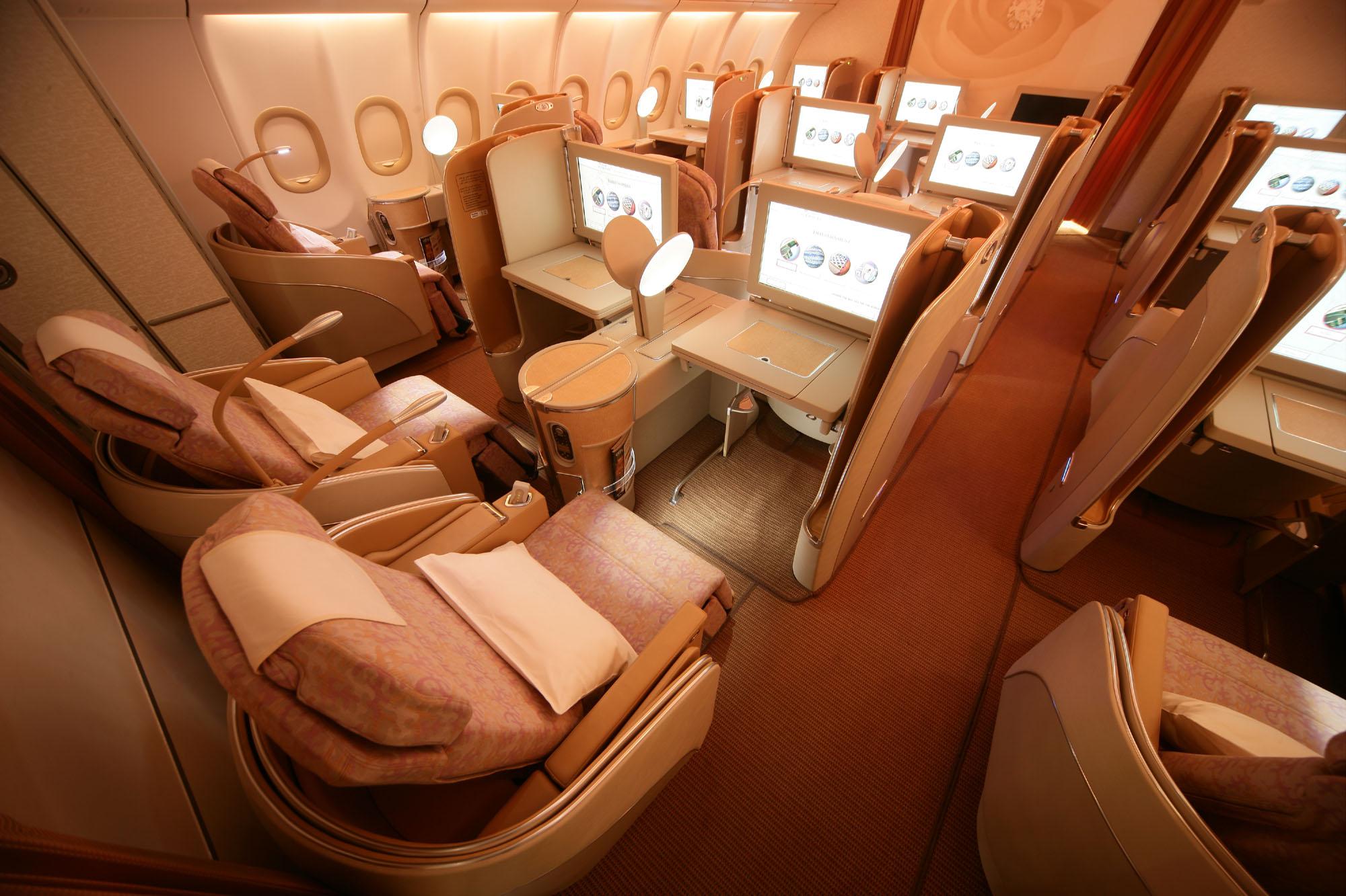 First Class Cabin