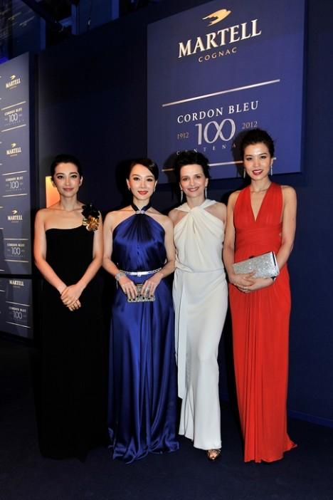 Juliette Binoche Li Bingbing Zhao Yin Yin Chen Shu Whang Haizhen